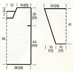 Сколько Нужно Набирать Петель Для Блузки 48 Размера Крючком